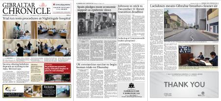 Gibraltar Chronicle – 22 April 2020