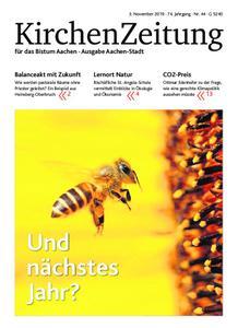 KirchenZeitung für das Bistum Aachen – 03. November 2019