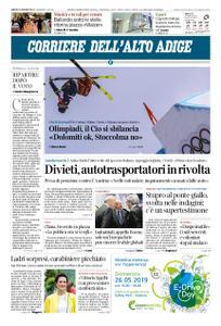 Corriere dell'Alto Adige – 25 maggio 2019