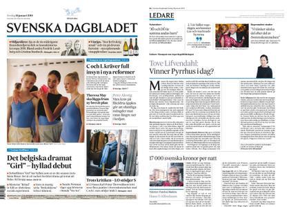 Svenska Dagbladet – 18 januari 2019