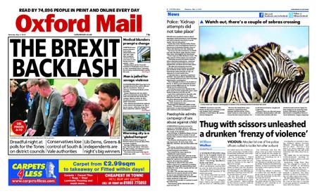 Oxford Mail – May 04, 2019