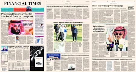 Financial Times Europe – 06 November 2017