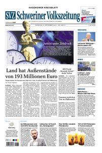 Schweriner Volkszeitung Hagenower Kreisblatt - 03. September 2019
