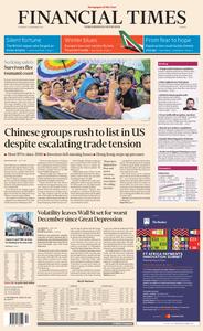 Financial Times Europe – 27 December 2018