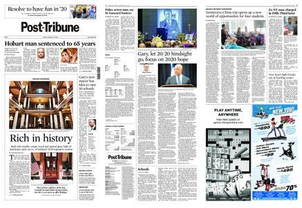 Post-Tribune – January 03, 2020