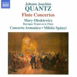 Mary Oleskiewicz, Concerto Armonico, Miklós Spányi - Johann Joachim Quantz: Flute Concertos (2013) Re-Up