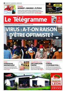 Le Télégramme Brest Abers Iroise – 16 février 2021