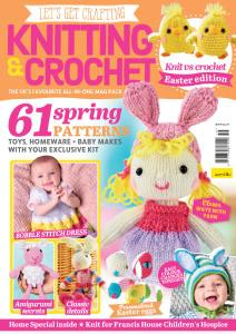 Let's Get Crafting Knitting & Crochet - Issue 119 - February 2020