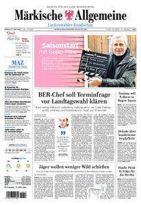 Märkische Allgemeine Luckenwalder Rundschau - 15. April 2019