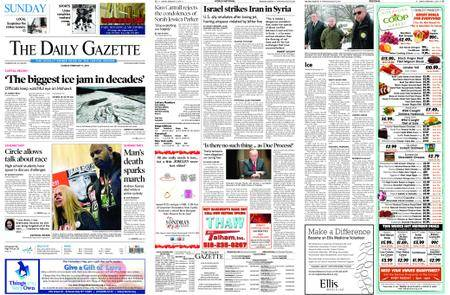 The Daily Gazette – February 11, 2018