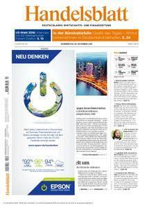 Handelsblatt - 03. November 2016