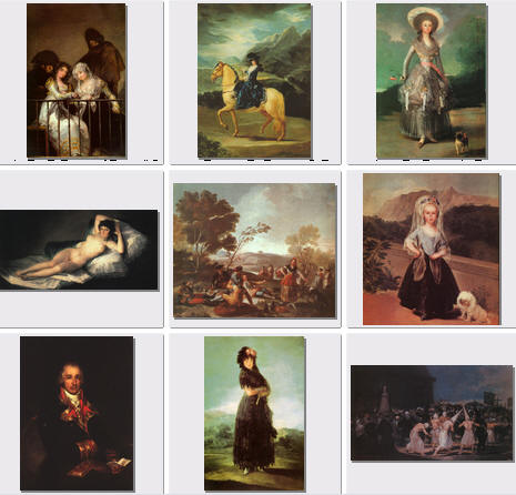 Франсиско Хосе де Гойя-и-Лусьентес (127 картин) | Francisco de Goya (127 pictures)