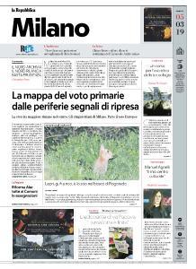 la Repubblica Milano - 5 Marzo 2019