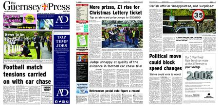 The Guernsey Press – 01 October 2018