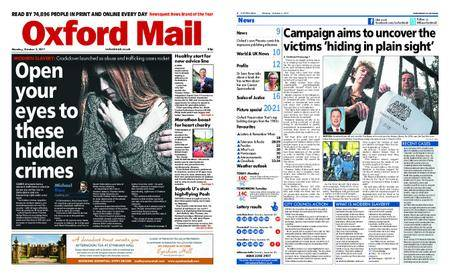 Oxford Mail – October 02, 2017