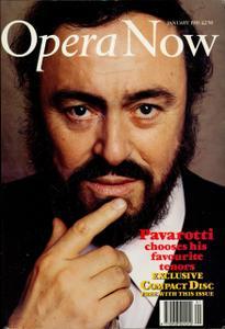 Opera Now - January 1991