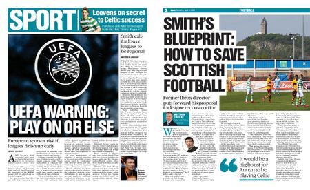 The Herald Sport (Scotland) – April 04, 2020