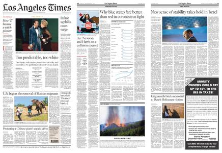 Los Angeles Times – September 20, 2021