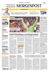 Solinger Morgenpost – 22. Januar 2019