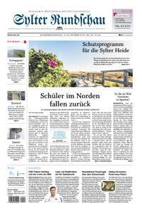 Sylter Rundschau - 19. Oktober 2019