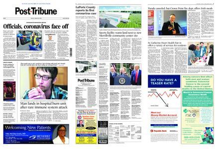 Post-Tribune – March 15, 2020