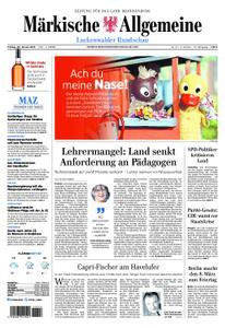Märkische Allgemeine Luckenwalder Rundschau - 25. Januar 2019