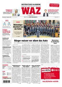 WAZ Westdeutsche Allgemeine Zeitung Oberhausen-Sterkrade - 13. September 2018