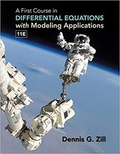 A First Course in Differential Equations with Modeling Applications Ed 11