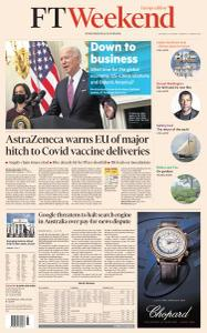 Financial Times Europe - January 23, 2021