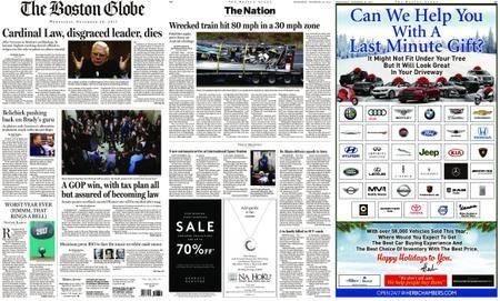 The Boston Globe – December 20, 2017
