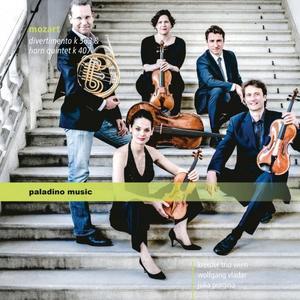 Kreisler Trio Wien - Mozart: Divertimento, K. 563 & Horn Quintet, K. 407 (2019)