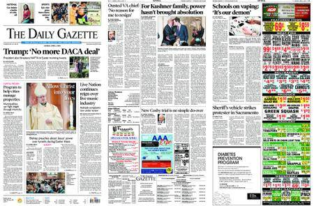 The Daily Gazette – April 02, 2018