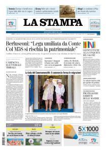 La Stampa Torino Provincia e Canavese - 12 Maggio 2019