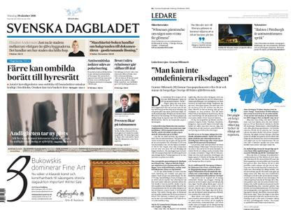 Svenska Dagbladet – 29 oktober 2018