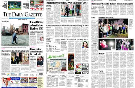 The Daily Gazette – December 02, 2017