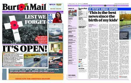 Burton Mail – November 11, 2017