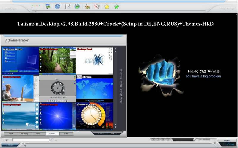 Talisman Desktop ver. 2.98 Build 2980 [ Setup is in DE \ ENG \ RUS ] + Themes