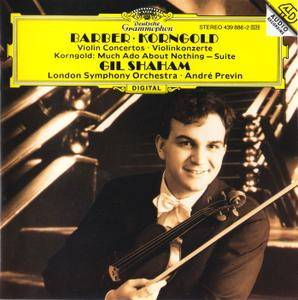 Gil Shaham, LSO, Andre Previn - Samuel Barber & Erich Wolfgang Korngold: Violin Concertos (1994)