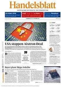 Handelsblatt - 27. Oktober 2016
