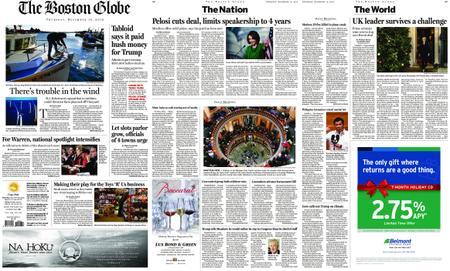 The Boston Globe – December 13, 2018
