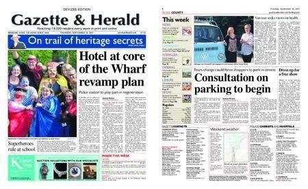 Gazette & Herald – September 14, 2017