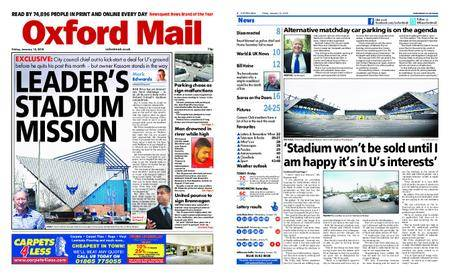 Oxford Mail – January 12, 2018
