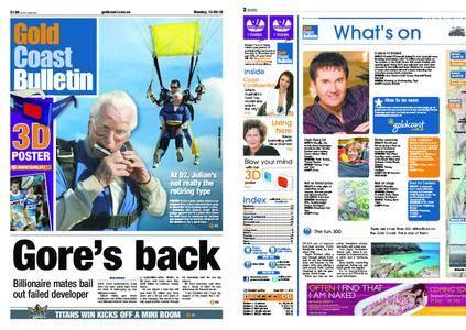 The Gold Coast Bulletin – September 13, 2010