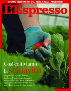 L'Espresso - 17 maggio 2020