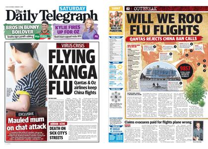 The Daily Telegraph (Sydney) – February 01, 2020