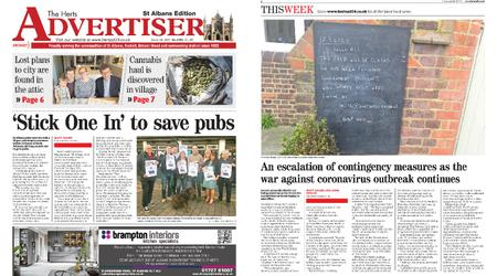 The Herts Advertiser – March 19, 2020