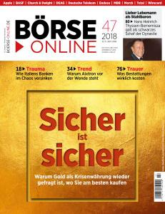Börse Online - 22 November 2018