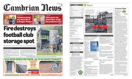 Cambrian News Meirionnydd – 01 October 2021