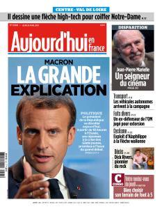 Aujourd'hui en France du Jeudi 25 Avril 2019