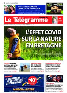 Le Télégramme Quimper – 24 mai 2020